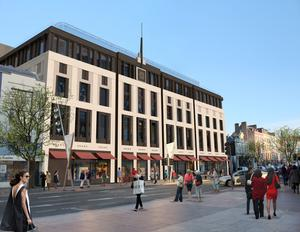 An artist's impression of what the Capitol development will look like after a €50m investment