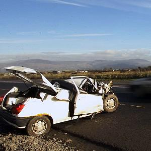 Car crash deaths rose for the first time in eight years, provisional figures showing 189 deaths on the roads this year