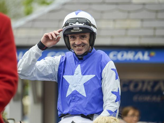 Former jockey Ruby Walsh. Picture: Michael Chester