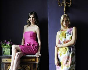 Style: Models Aoife Cogan and Sarah McGovern launching a Coast collection in Dublin back in 2012