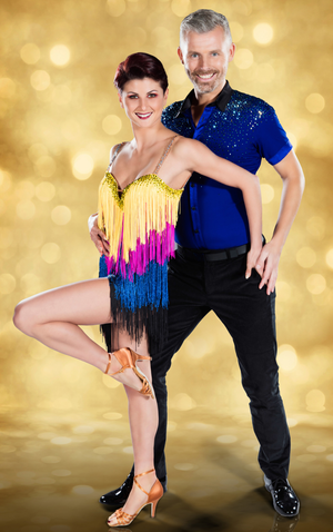 TV show: Des Bishop with his Dancing With The Stars partner Giulia Dotta
