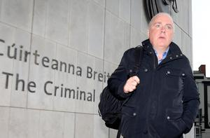 David Drumm, who was freed this week, before he was               jailed in 2018. Photo: Collins Courts