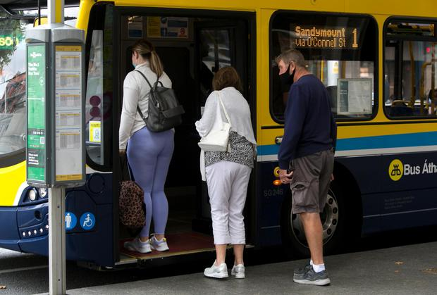 Public transport will resume to full capacity from tomorrow. Photo: Gareth Chaney