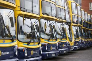 DUBLIN Bus has recorded an increase of nearly 4pc in passenger numbers this week as growing numbers of people are leaving their homes during the Covid-19 lockdown restrictions.