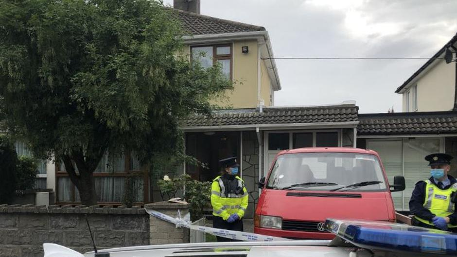 The scene of the assault this morning (Photo: Conor Feehan)