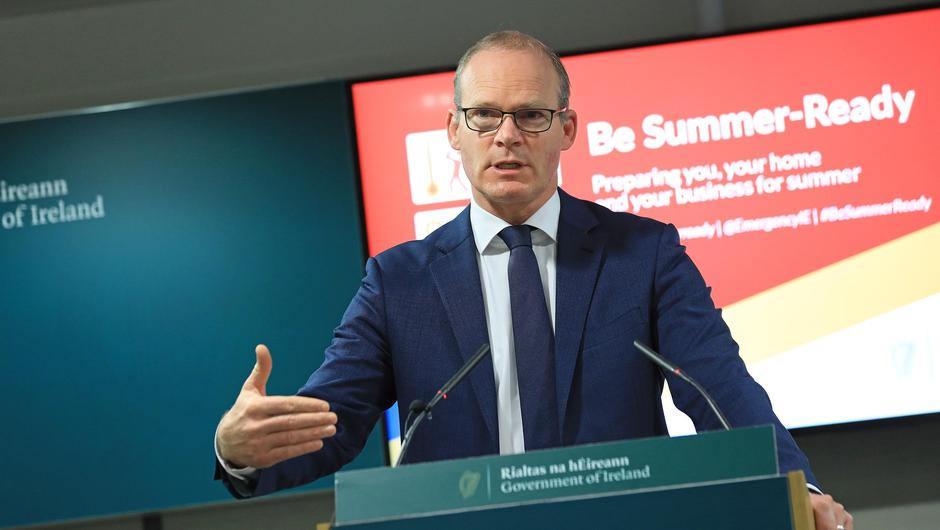 The footage comes just hours after Minister Simon Coveney defended the40,000 attendance at Croke Park amid frustration that restrictions have not yet been eased for the entertainment and live events industry. Photo: Julian Behal