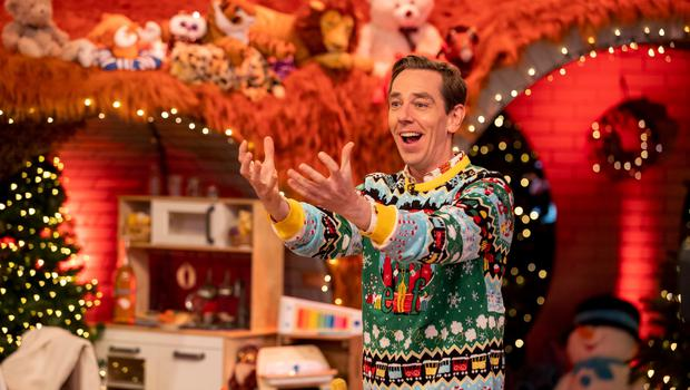 Ryan Tubridy during The Late Late Toy Show 2020