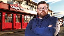 Bad news: Austin McGeough, co-owner of The Cherrytree Pub in Walkinstown. Photo: Steve Humphreys