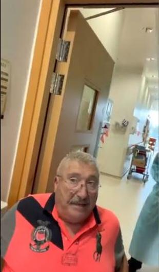 The family of Joe McCarron (pictured) who was removed from a Co Donegal hospital have slammed those who took him from the facility.