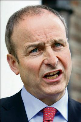Micheal Martin: says proposed bill is pro-life