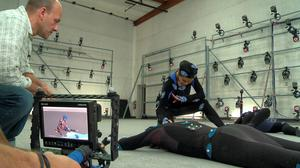 How the technology maps movement using multiple sensors all over the body.