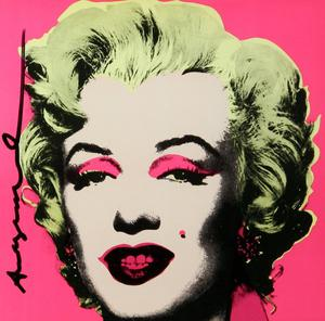 Marilyn screenprint by Andy Warhol at Gormley's Fine Art