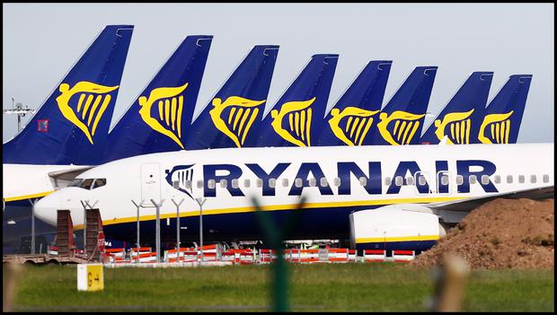 Stock photo: Ryanair