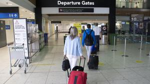 Passengers at the Departure Gates of Terminal 1 at Dublin Airport (Picture Colin Keegan, Collins Dublin)