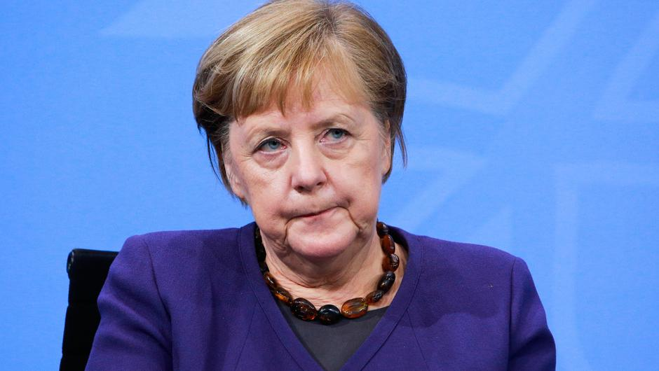 'Slow': Angela Merkel has ordered extra 30 million doses of vaccine. Photo: Getty