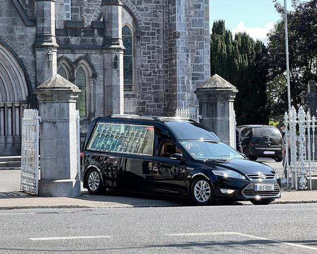The remains of Eileen Quirke leave St Michael's Church, Tipperary following Requiem Mass. Photo: Don Moloney