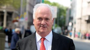 Stinging criticism: Former Taoiseach John Bruton has criticised the Irish Government and the EU for their handling of Phil Hogan. Photo: Tom Burke