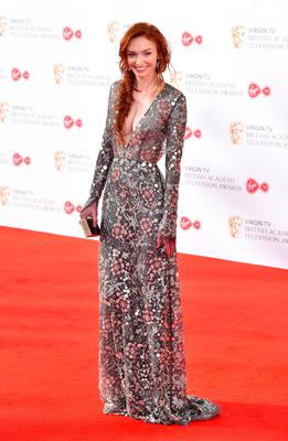 Eleanor Tomlinson arriving for the Virgin TV British Academy Television Awards 2017 held at Festival Hall at Southbank Centre, London. Photo: PA