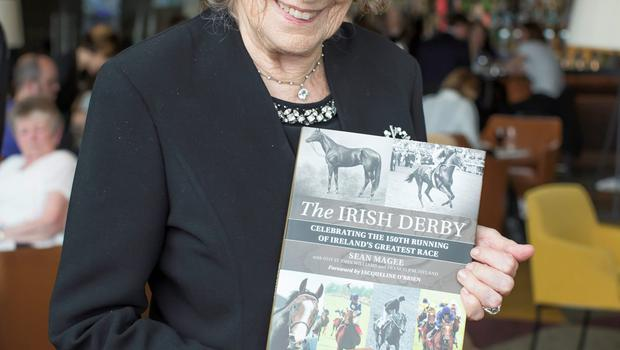 Mrs Jacqueline O'Brien at 2015 Dubai Duty Free Irish Derby launch