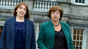 Social Democrat co-leader Catherine Murphy has called for mandatory quarantine for people travelling into Ireland. Photo: Tom Burke