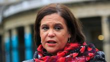 Legal fight: Mary Lou McDonald is suing Declan Breathnach. Photo: Gareth Chaney Collins