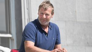 John Morrissey who has pleaded not guilty to criminal damage