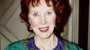 SONG AND STORY: Carmel Quinn packed New York's Carnegie Hall every St Patrick's Day