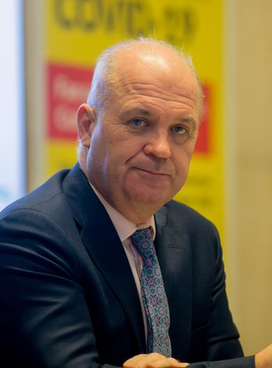 Dr Tony Holohan, during a press briefing at the Department of Health. Photo: Gareth Chaney/Collins
