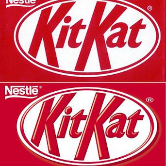You might be trying to kick the Kit-Kat habit