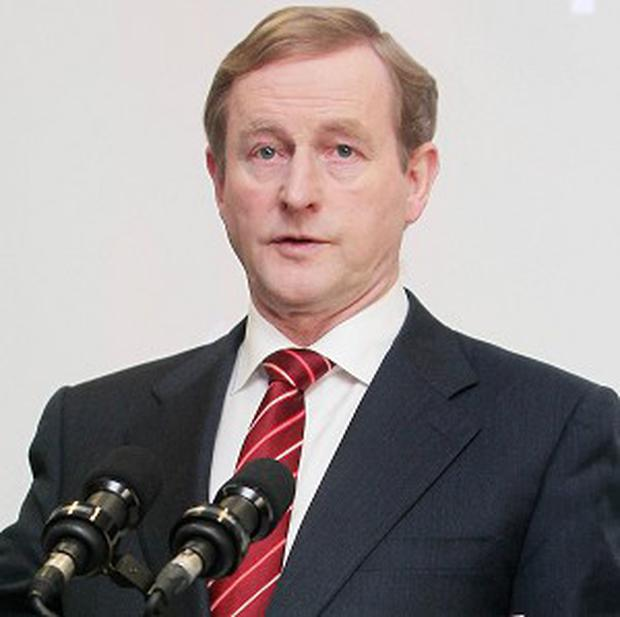 Taoiseach Enda Kenny has been accused of a 'cop-out' in relation to the Magdalene laundries