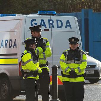 Three men were arrested when officers swooped on two cars on the N24 near Cahir, Co Tipperary