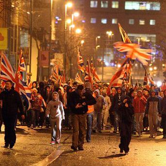 Union flag protests have been taking place in Northern Ireland