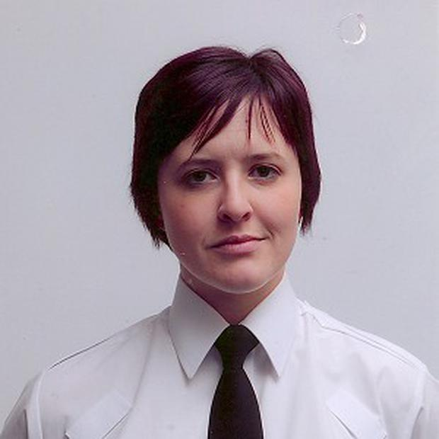 Constable Philippa Reynolds, 27, who died when the unmarked police car she was travelling in turned into the path of a stolen 4x4 in Londonderry (PSNI)