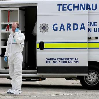 The viable device was found near an ATM machine at the Blanchardstown Institute of Technology