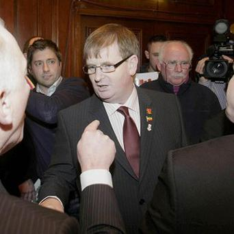 Willie Frazer, a high profile organiser of the loyalist Union flag demonstrations whose car has been torched