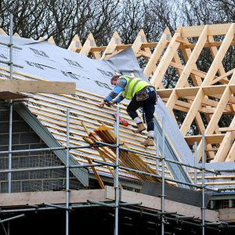 Research suggests that the rate of decline in the construction industry has started to ease