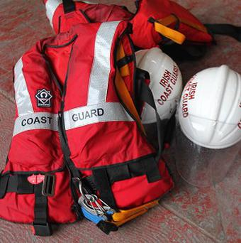 Irish Coast Guard are searching for a Spanish fisherman who fell from his trawler