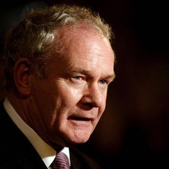 Sein Finn's Martin McGuinness formally resigned from his Mid-Ulster seat last month