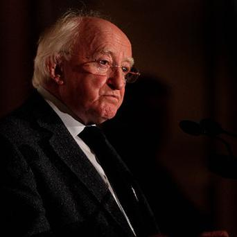 Michael D Higgins said Sean Og O Ceallachain 'made an outstanding contribution to the use of our native language in sports commentary'