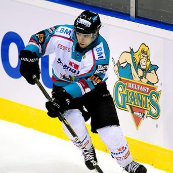 Mark Garside of the Belfast Giants
