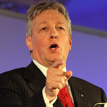 First Minister Peter Robinson says growing the economy is a key priority