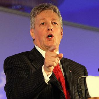 Peter Robinson has said it is not worth having someone killed or injured to remove perceptions