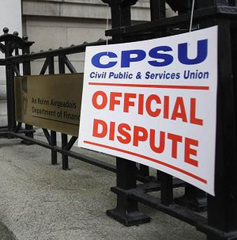 The Civil Public and Services Union is one of a number of bodies to pull out of crunch talks on the new pay agreement