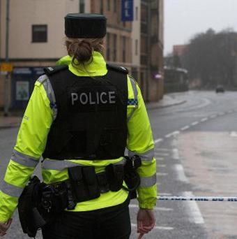 Detectives from the PSNI's Serious Crime Branch are investigating an explosion in Larne