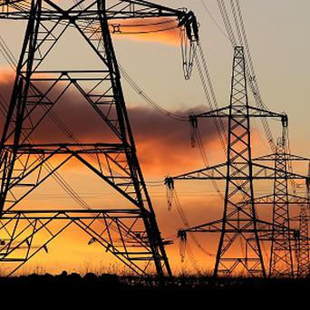 About 3,000 homes were left without electricity after vandals set fire to a substation, officials have revealed