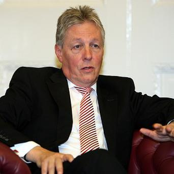 First Minister Peter Robinson summoned PSNI Chief Constable Matt Baggott and his senior command team to Stormont