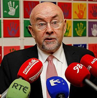 Education Minister Ruairi Quinn said investing in broadband technology for schools is money well spent