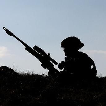 A soldier was killed during a live fire army exercise in west Wales