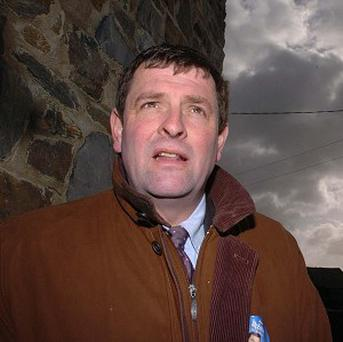 Shane McEntee died by suicide in December just days after his 56th birthday