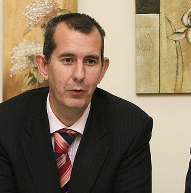 Edwin Poots said the Marie Stopes clinic which opened in Belfast last year would not now be held to account